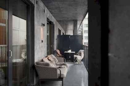 72 smart balcony designs with scandinavian ideas (46)