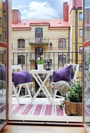 72 smart balcony designs with scandinavian ideas (54)