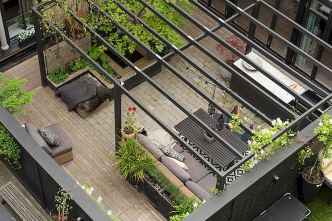 72 smart balcony designs with scandinavian ideas (61)