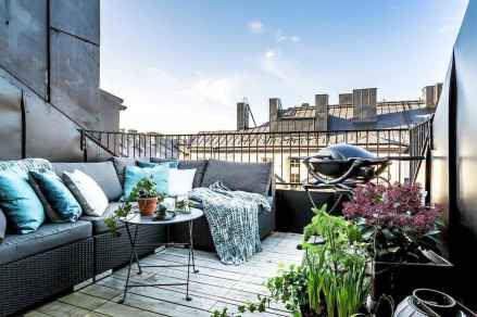 72 smart balcony designs with scandinavian ideas (72)