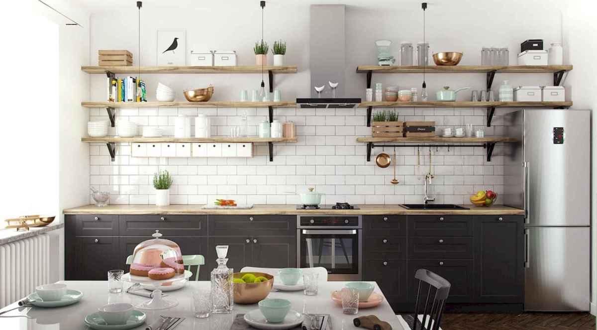 90+ inspiring and inventive scandinavian kitchen ideas (90)
