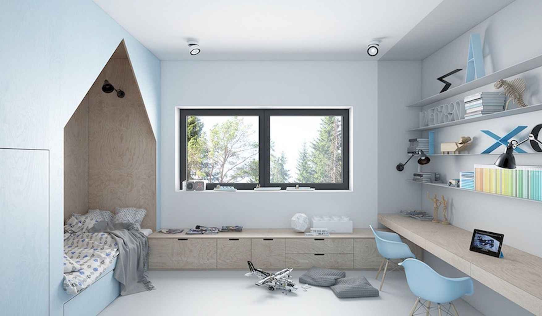 Awesome ideas bedroom for kids (48)