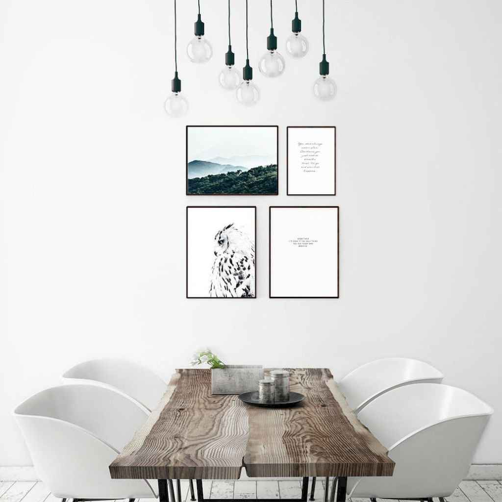 Awesome minimalist dining room decorating ideas (21)