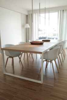 Awesome minimalist dining room decorating ideas (22)