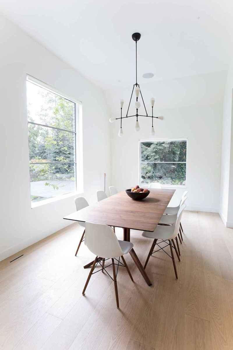 Awesome minimalist dining room decorating ideas (27)