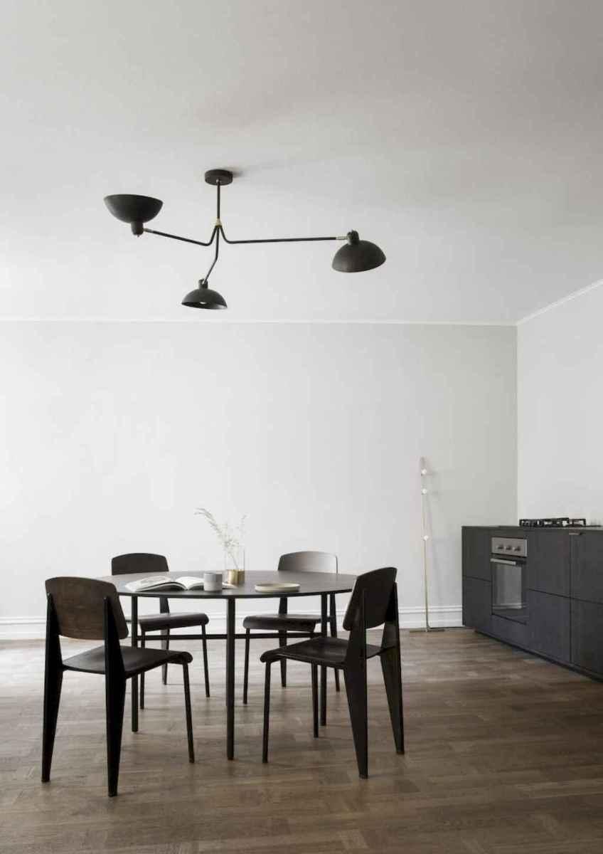 Awesome minimalist dining room decorating ideas (38)