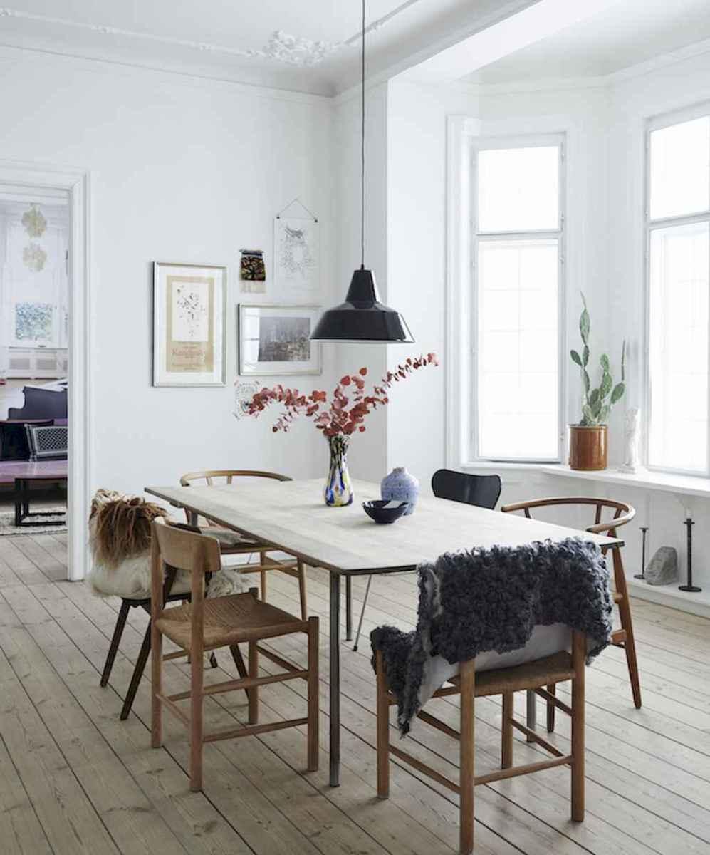 Awesome minimalist dining room decorating ideas (39)