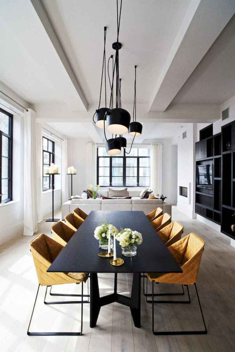 Awesome minimalist dining room decorating ideas (48)