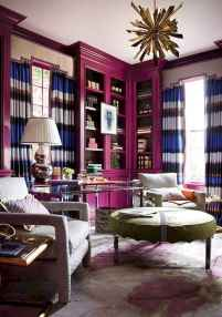 Beautiful home library design ideas (11)