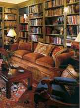 Beautiful home library design ideas (34)