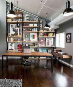Beautiful home library design ideas (35)