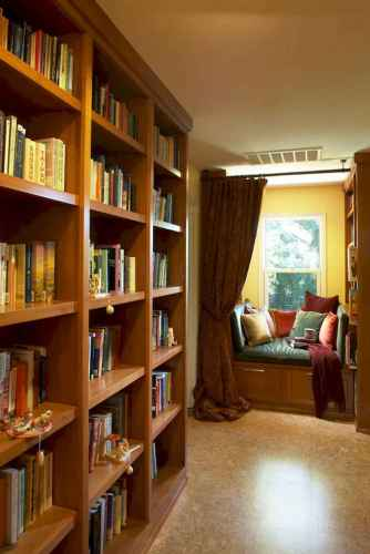 Beautiful home library design ideas (42)