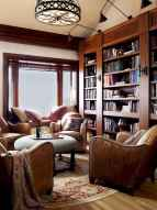 Beautiful home library design ideas (53)