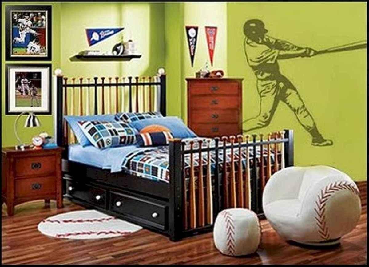 Cool sport bedroom ideas for boys (40)