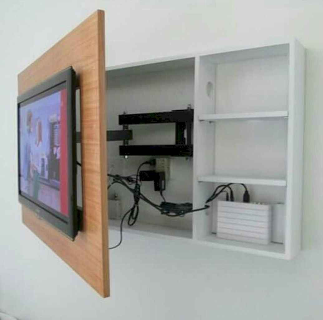 Incredible bedroom tv wall ideas (54)