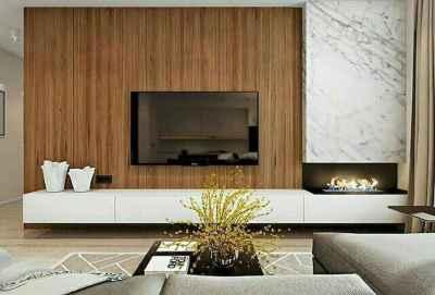 Inspired tv wall living room ideas (47)