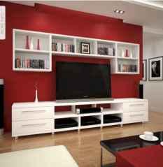 Inspired tv wall living room ideas (50)