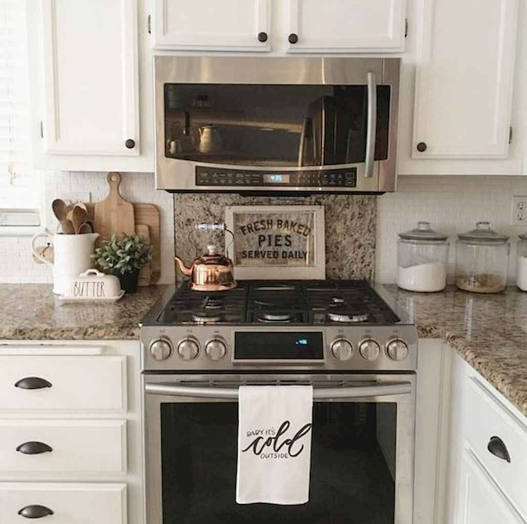 Simply apartement kitchen decorating ideas on a budget (52)