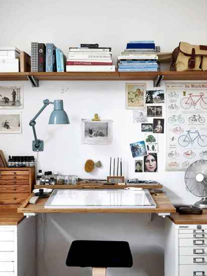 Smart solution for your workspace bedroom ideas (40)