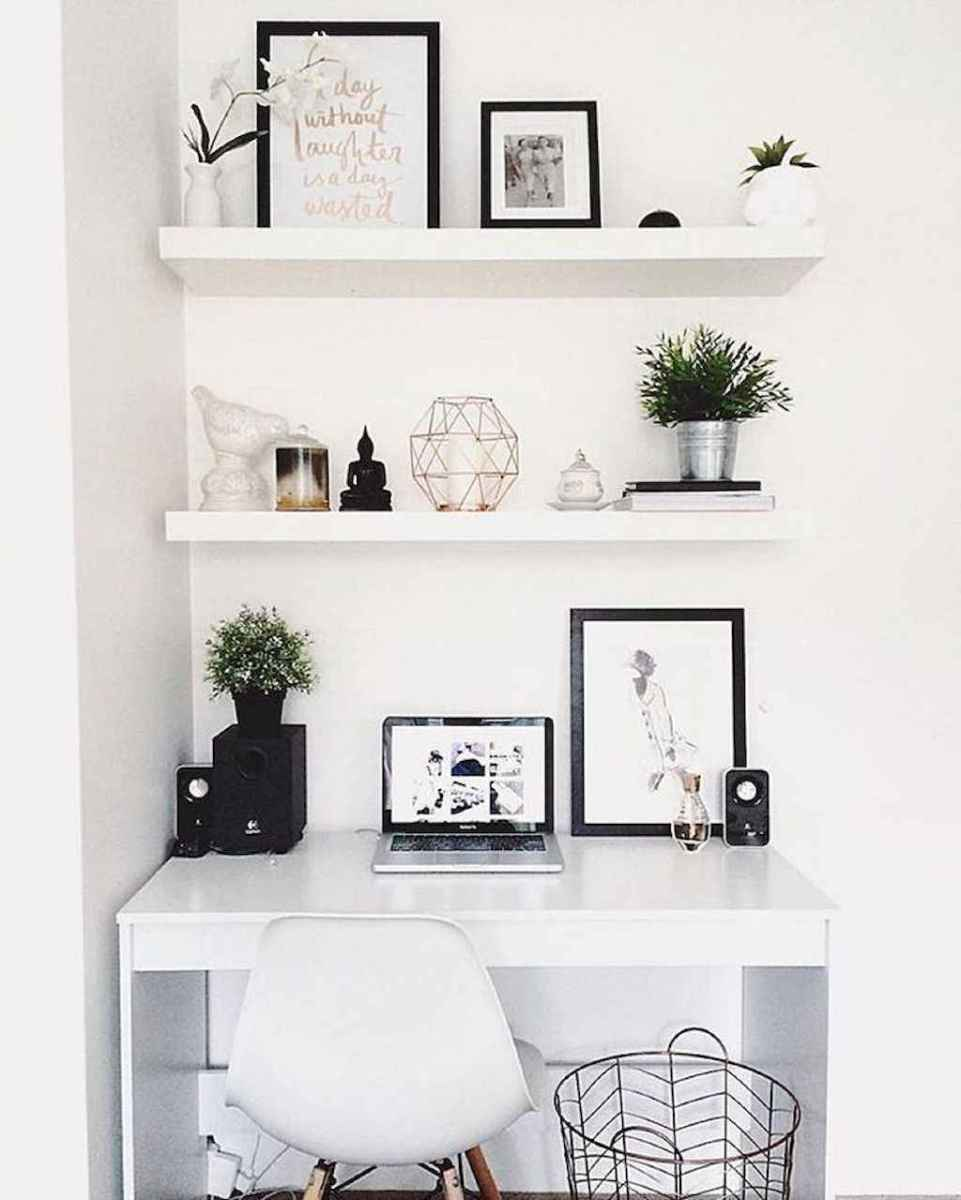 Smart solution for your workspace bedroom ideas (42)