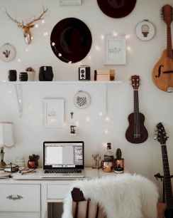 Smart solution for your workspace bedroom ideas (59)