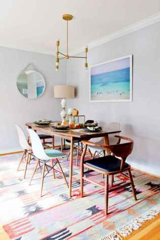 20 small and clean first apartment dining room ideas (17)