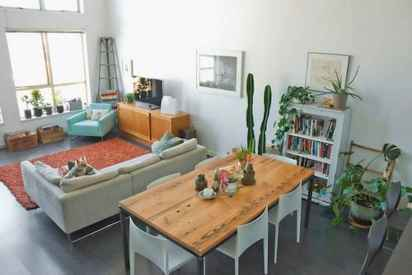 20 small and clean first apartment dining room ideas (4)