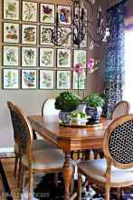 20 small and clean first apartment dining room ideas (8)