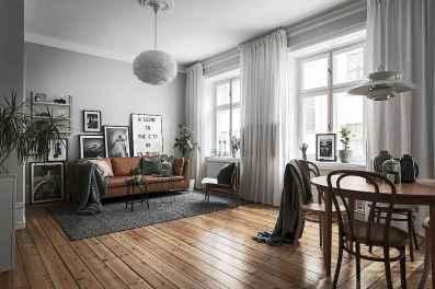 25 modern farmhouse living room first apartment ideas (15)