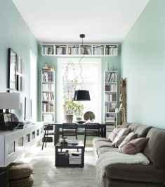 25 modern farmhouse living room first apartment ideas (16)