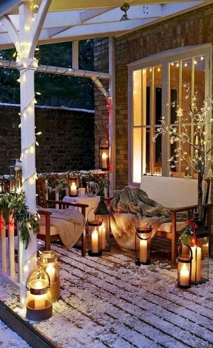 30+ diy apartment decorating christmas lights (14)
