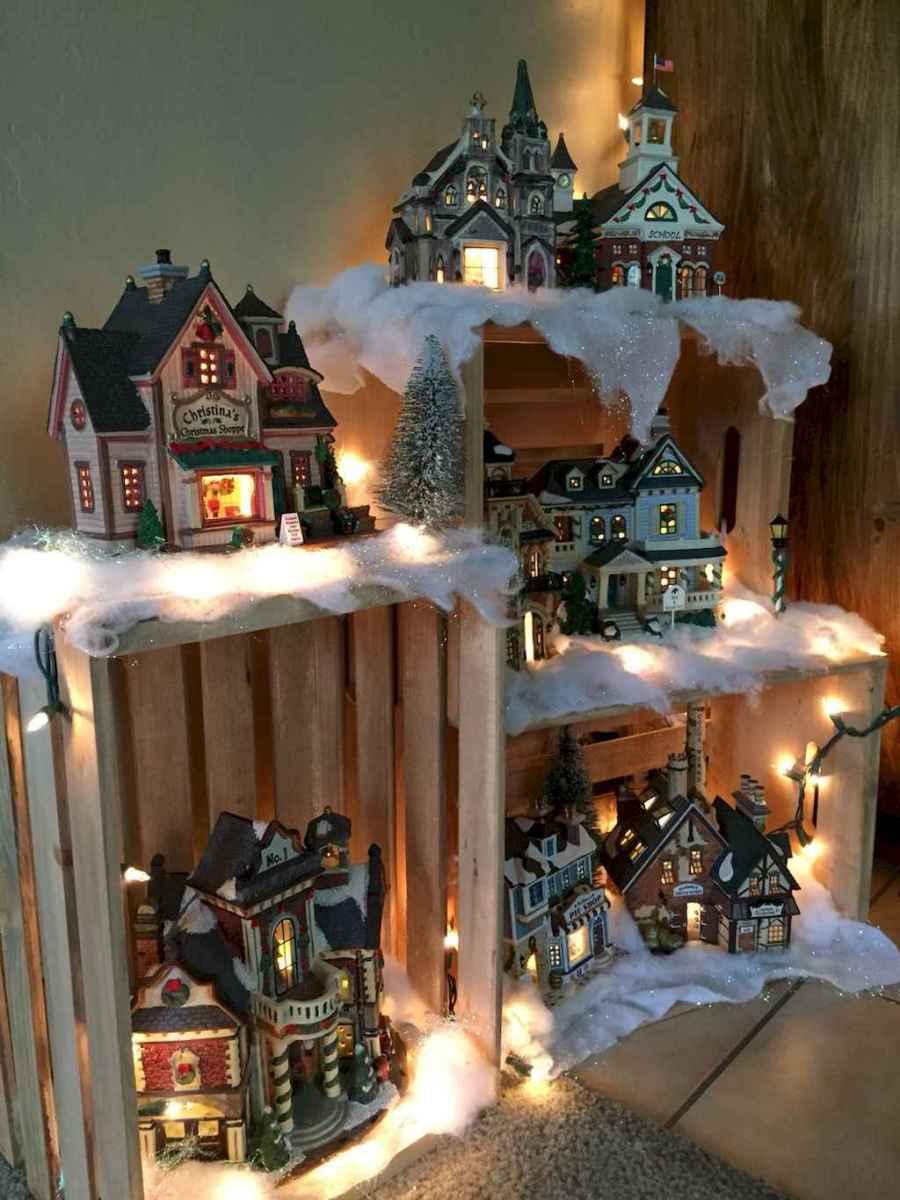30+ diy apartment decorating christmas lights (8)