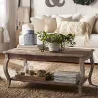 30 inspiring diy rustic coffee table ideas remodel (5)