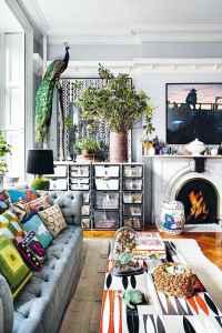 40 boho chic first apartment decor ideas (14)