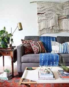 40 boho chic first apartment decor ideas (4)