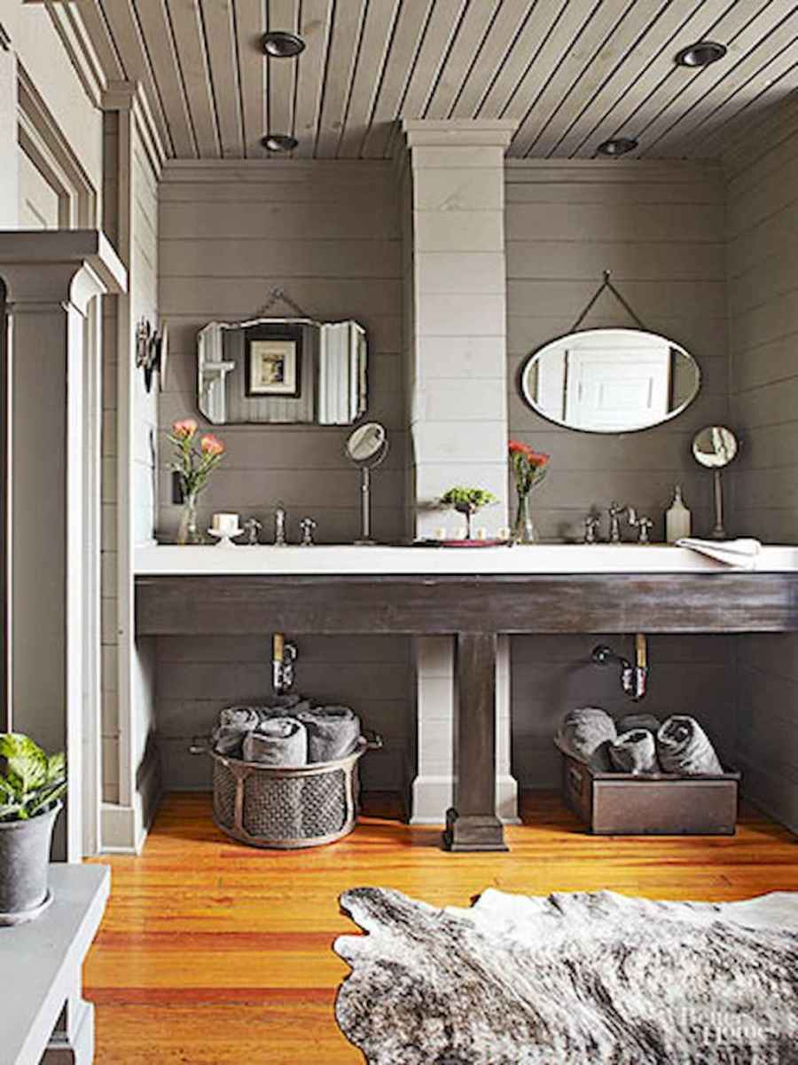 40 easy master bathroom organization ideas (10)