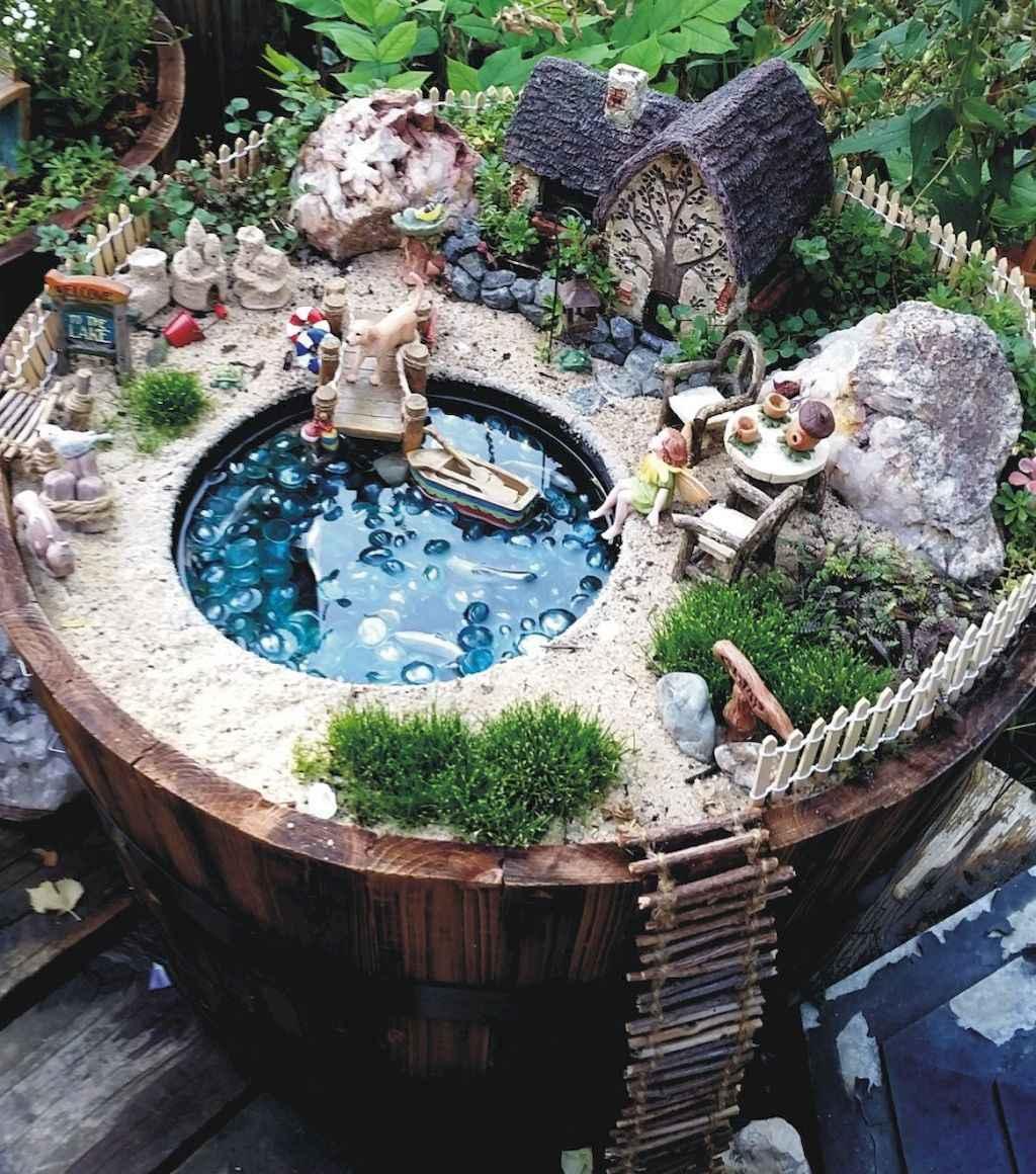 50 Gorgeous Outdoor Patio Design Ideas: 50 Beautiful Diy Fairy Garden Design Ideas (49