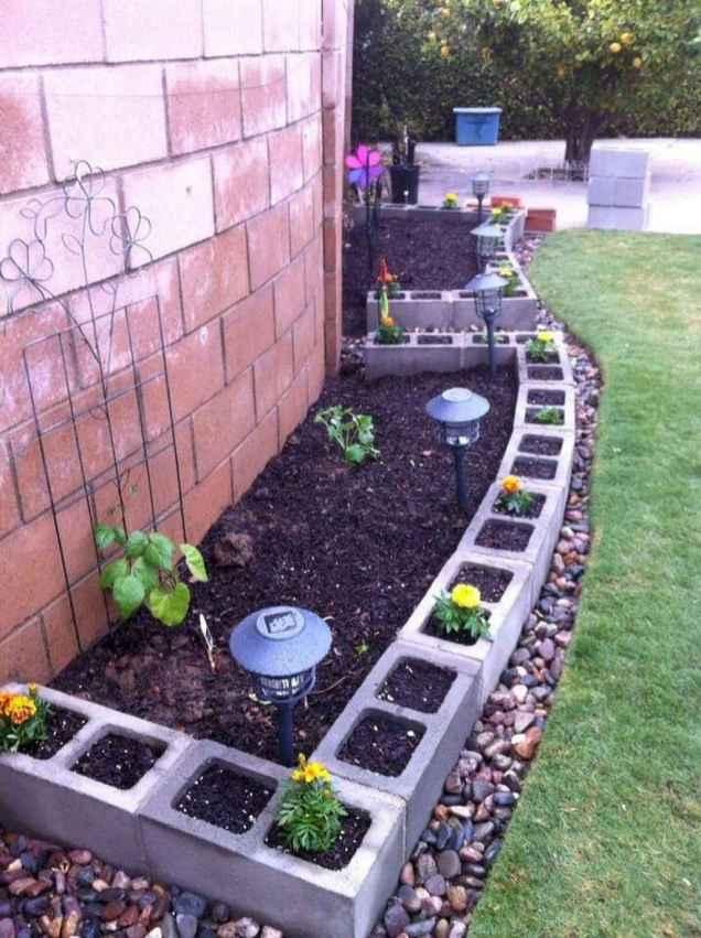 50 diy flower garden ideas in front of house (23)