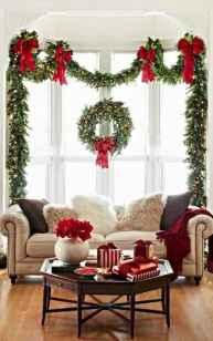 60 apartment decorating ideas for christmas (60)