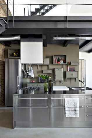 70 amazing industrial furniture ideas decoration for your kitchen (49)