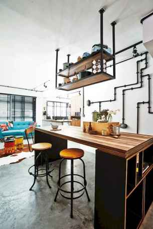 70 amazing industrial furniture ideas decoration for your kitchen (9)