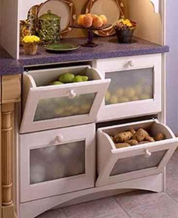 100 smart kitchen organization ideas for first apartment (26)