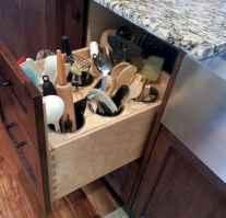 100 smart kitchen organization ideas for first apartment (77)