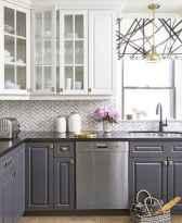 150 gorgeous farmhouse kitchen cabinets makeover ideas (111)