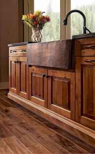 150 gorgeous farmhouse kitchen cabinets makeover ideas (128)