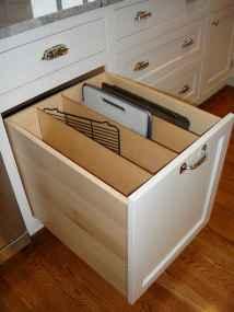 150 gorgeous farmhouse kitchen cabinets makeover ideas (142)