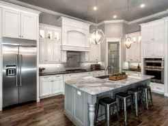 150 gorgeous farmhouse kitchen cabinets makeover ideas (55)