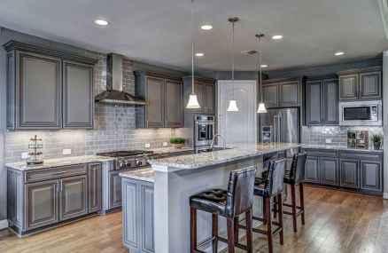 150 gorgeous farmhouse kitchen cabinets makeover ideas (68)