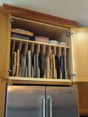 150 gorgeous farmhouse kitchen cabinets makeover ideas (69)