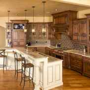 150 gorgeous farmhouse kitchen cabinets makeover ideas (71)
